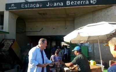 Mesmo em campanha, Raul mantém ações como vereador